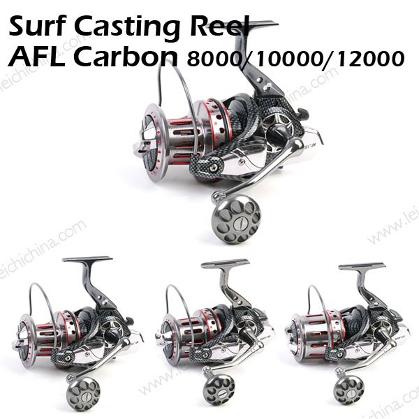Surf Casting Reel AFL Carbon 8000 10000 12000