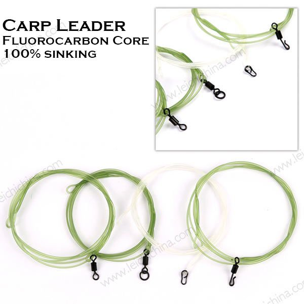 Carp Leader Fluorocarbon Core 100% sinking