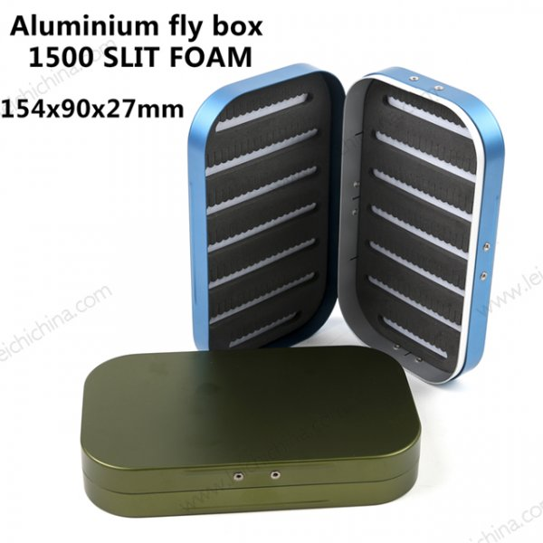 Aluminium fly box 1500 SLIT FOAM