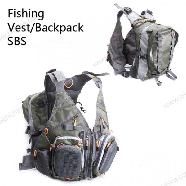 fishing vest backpack SBS