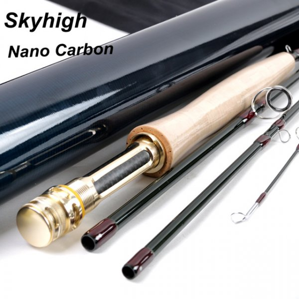 IM12/40T+46T Toray carbon Skyhigh fly rod