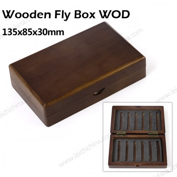 Wood fly box WOD