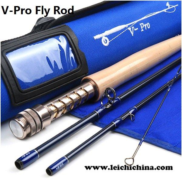 IM8/30T+40T SK carbon 9ft fly rod V-Pro Series