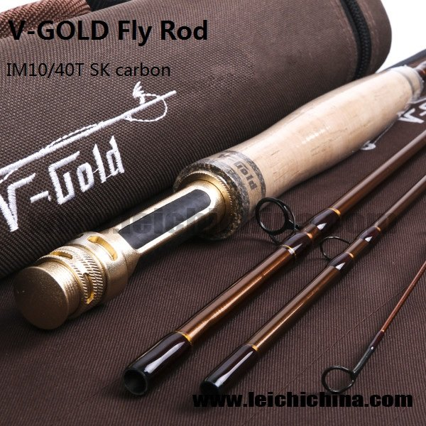 IM10/40T SK carbon fly fishing rod V-Gold series