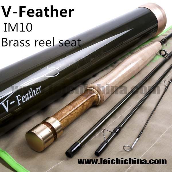 IM10/30T+36T SK carbon fly fishing rod V-Feather series
