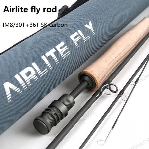 IM8/30T+36T SK carbon fly fishing rod Airlite series