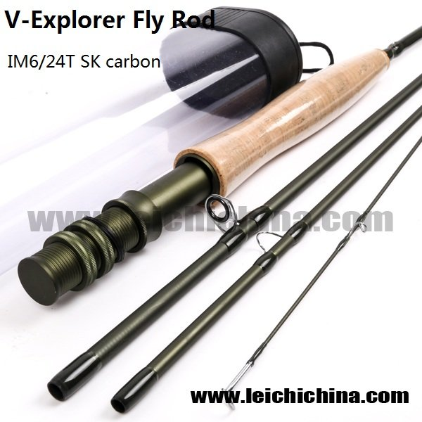 IM6/24T SK Carbon Fly Fishing Rod V-Explorer Series