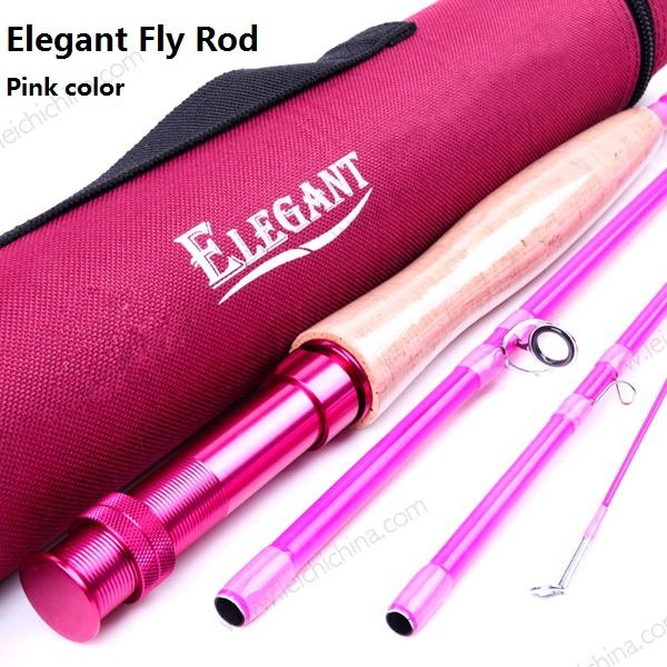 IM6/24T IM8/30T SK carbon Pink Elegant fly rod Series