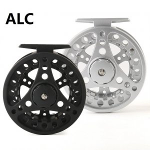 Die cast aluminum fly reel ALC