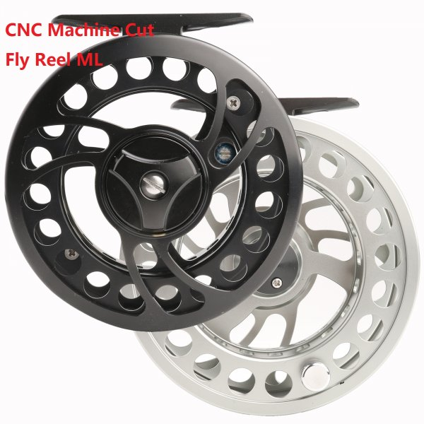 Super Price Machine Cut Fly Reel ML