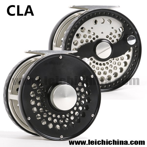 Strong power disc drag classic fly fishing reel CLA-Power
