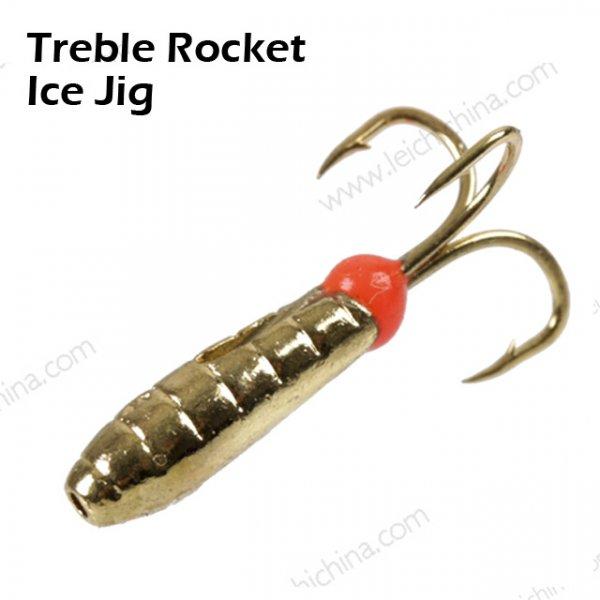 Treble Rocket Ice Jig