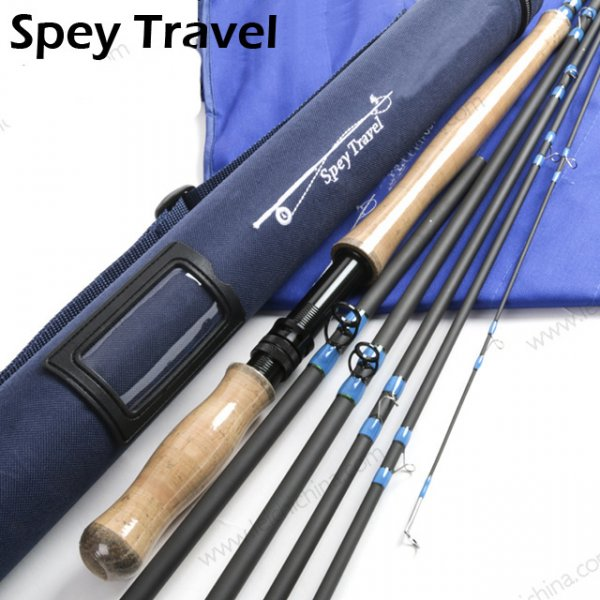 IM8/30T+36T SK Carbon Fly Fishing Spey Travel Rod Series