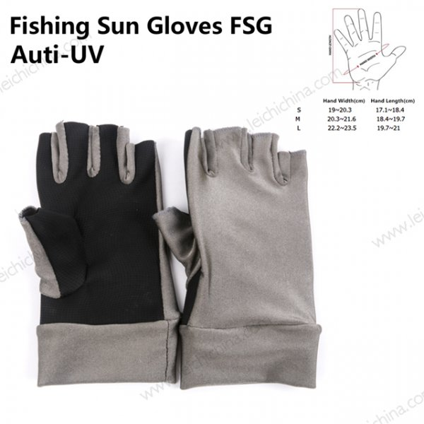 Fish Sun Gloves FSG Anti-UV