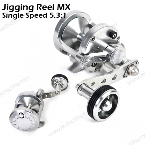 Jigging Reel MX Single speed 5.3:1