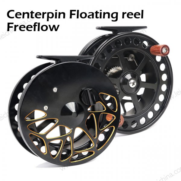Centerpin Floating reel Freeflow
