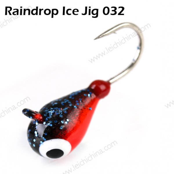 tungsten ice fishing jig