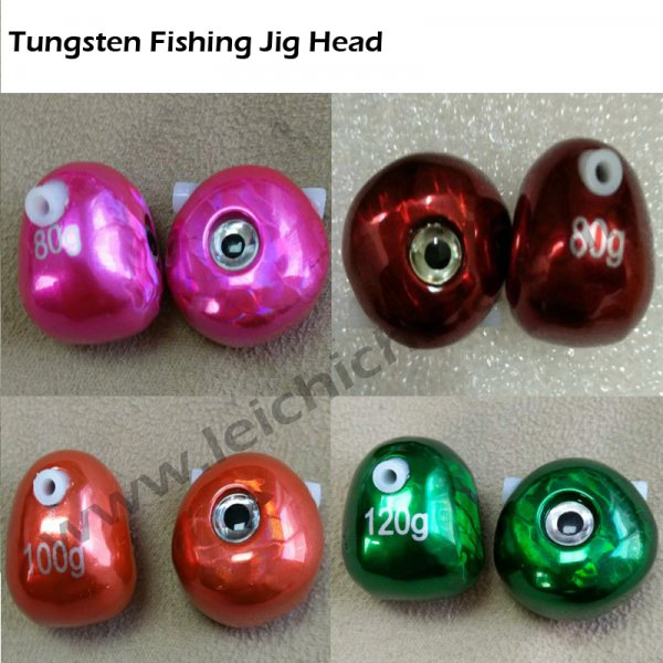 tungsten jig head fishing weight