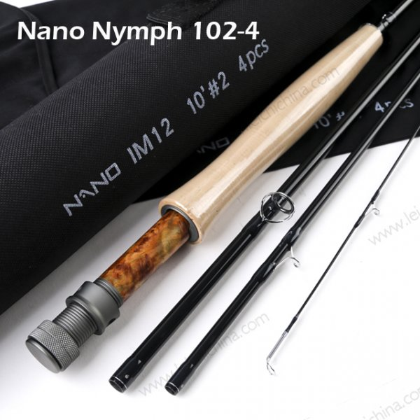 Nano Nymph fly rod 1024