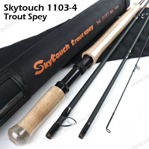 skytouch trout spey fly rod 11034