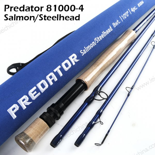 predator salmon steelhead fly rod 8100-4