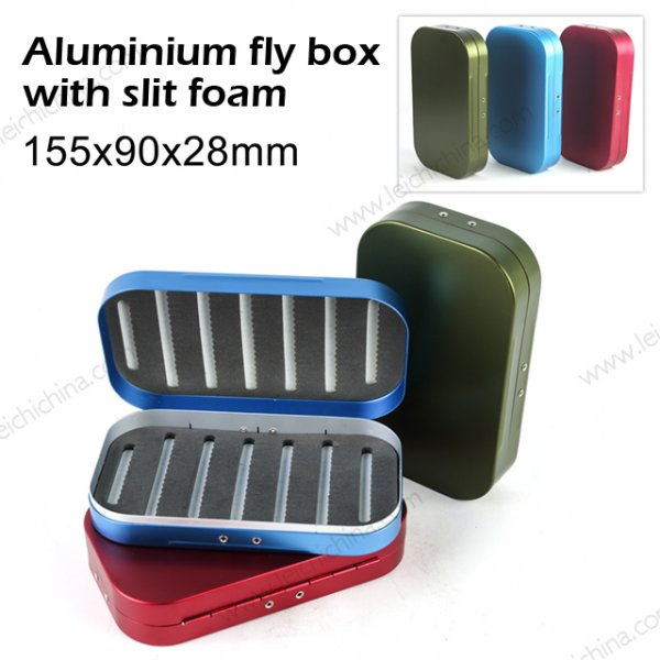 aluminum fly fishing box