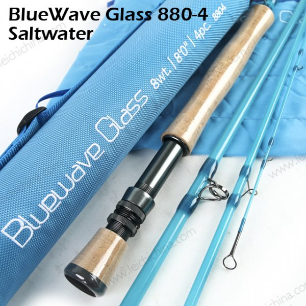 bluewater fiber glass fly rod