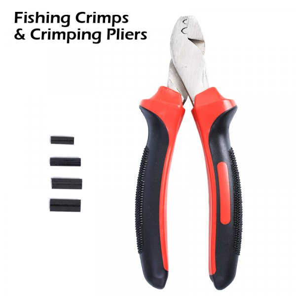 Fishing Crimps and Crimping Pliers