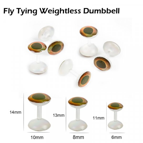 Fly Tying Weightless Dumbbell