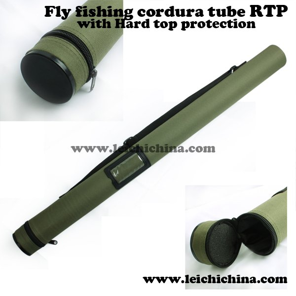 Cordura Fly Rod Tube with hard Top protection RTP