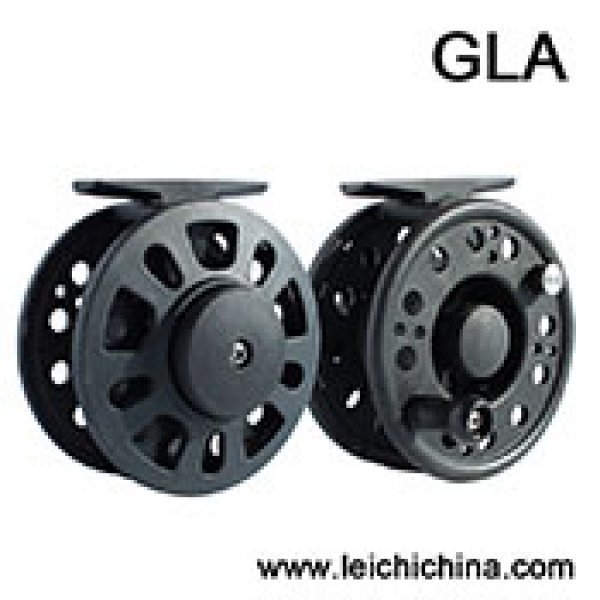 Plastic Graphite Fly Reel GLA