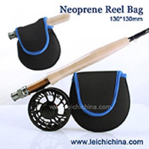 Neoprene fly reel bag 002