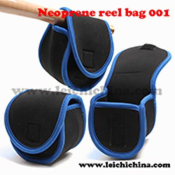 Neoprene fly reel bag 001