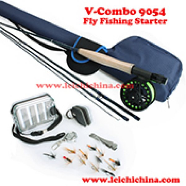 Fly fishing starter combo V-combo 9054