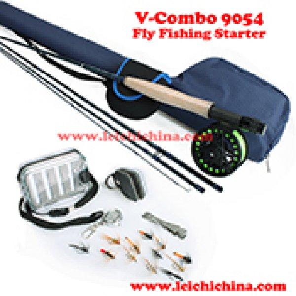 Fly fishing starter combo V-combo 9054
