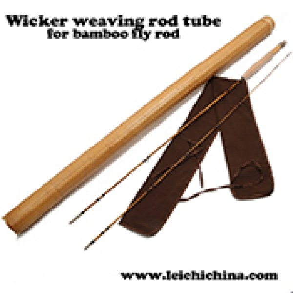 wicker weaving fly rod tube