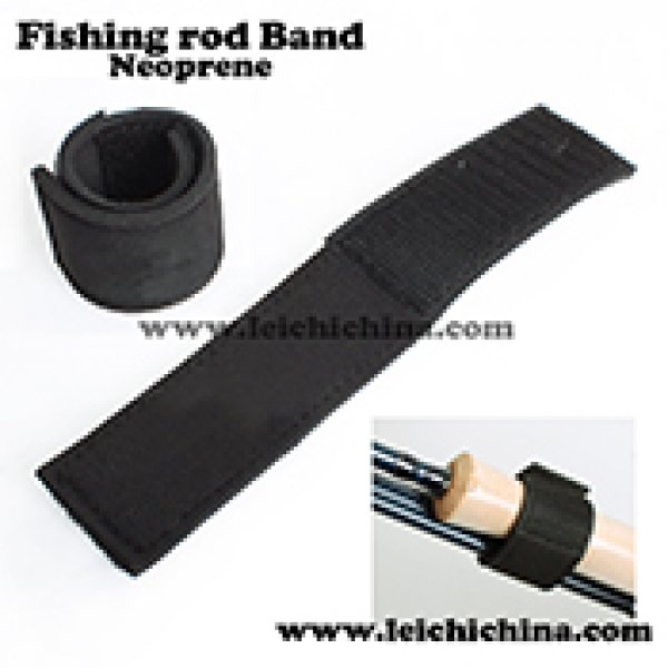 Neoprene fishing rod band