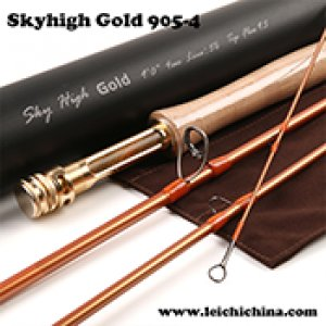 BEST Skyhigh Gold 46T carbon fly rod 9054