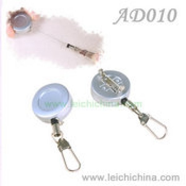 fly fishing wire cord zinger retractor AD010