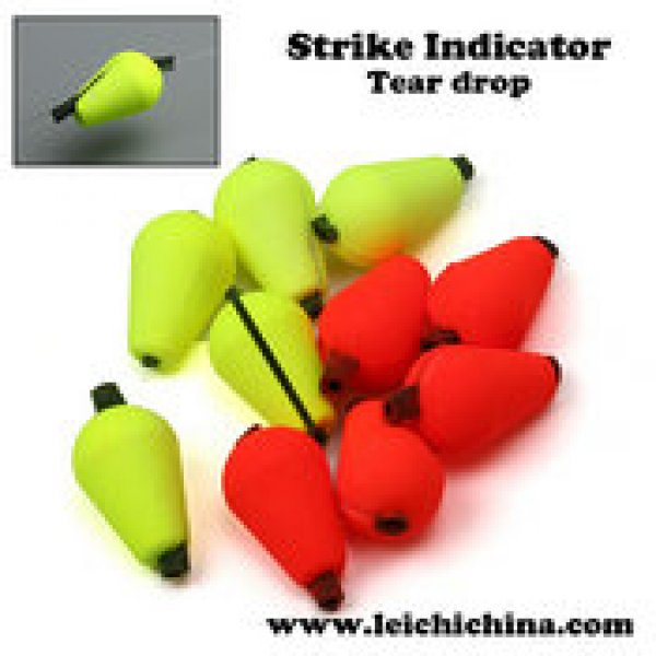 fly fishing tear drop strike indicator