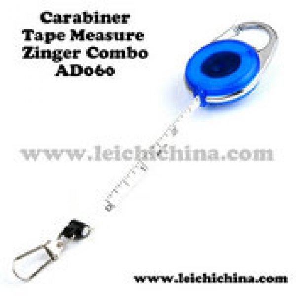 Carabiner Tape Measure Zinger Combo AD060
