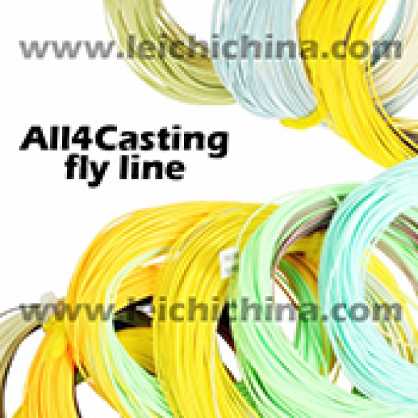 All casting fly fishing line