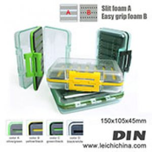 Exclusive waterproof fly box DIN