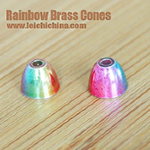 Rainbow Brass Cones