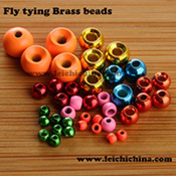 Fly tying brass beads