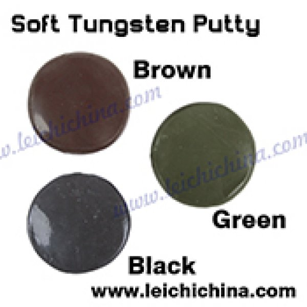 Heavy metal soft tungsten sink putty 15g