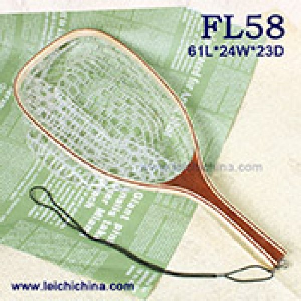 Square rubber net fishing landing net FL-58
