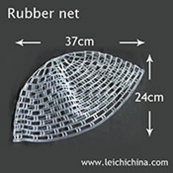 Fly fishing landing net rubber net