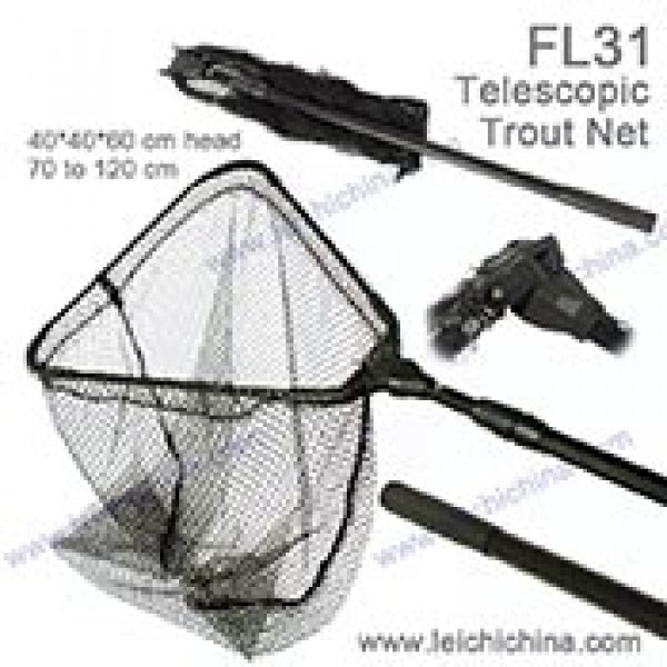 telescopic trout net FL-31