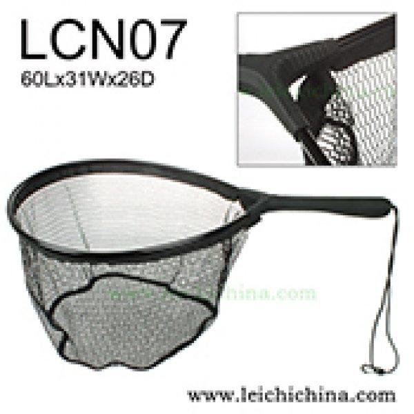 Fly fishing flat bottom trout net LCN07